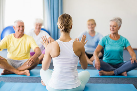 senior citizen fitness program