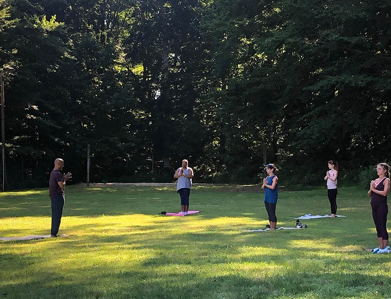 Outdoors personal training classes at AFC Fitness
