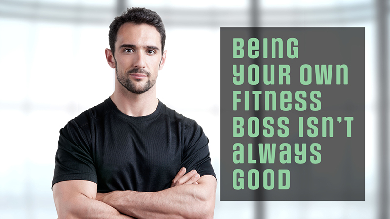 Fitness boss personal trainer