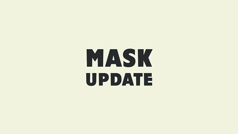 Gyms require mask
